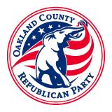 Oakland County Republican Party Logo
